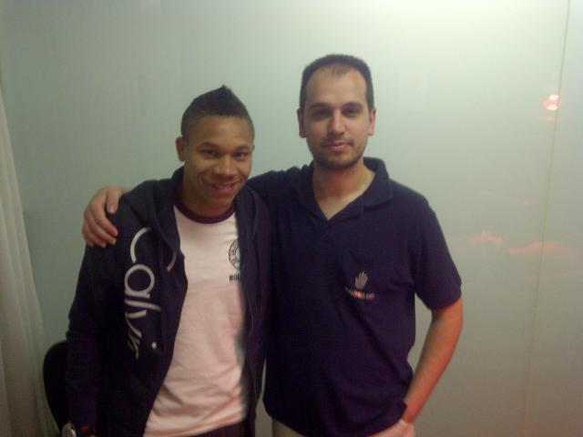 Wellington Silva y Oscar Giner