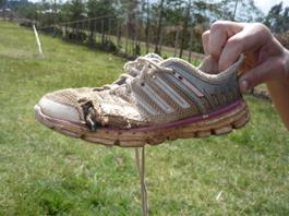 Zapatilla corredor Etíope